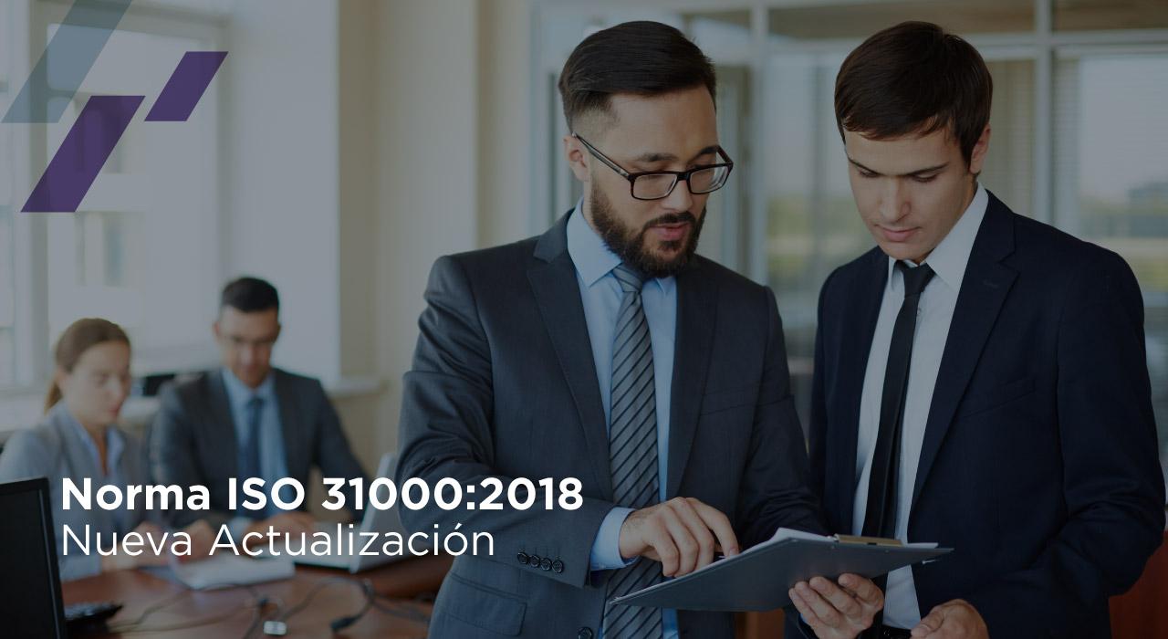 Norma ISO 31000:2018 Nueva Actualización