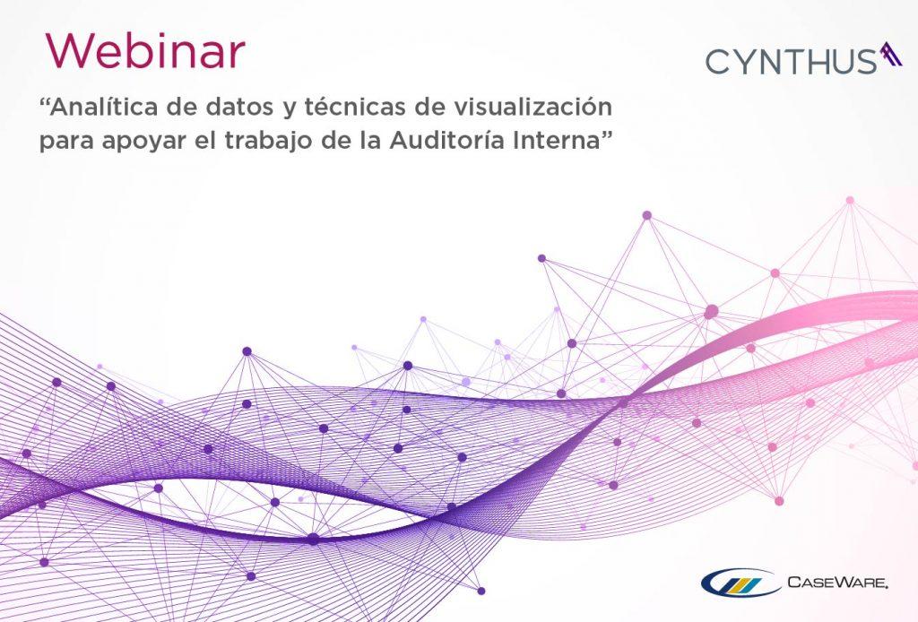 Webinar Analítica de datos y técnicas de visualización para apoyar el trabajo de la auditoría Interna