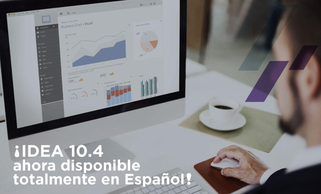 ¡IDEA 10.4 ahora disponible totalmente en Español!