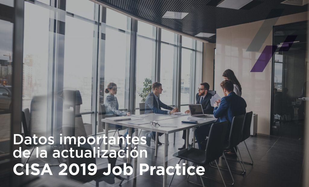 Actualización CISA 2019 Job Practice