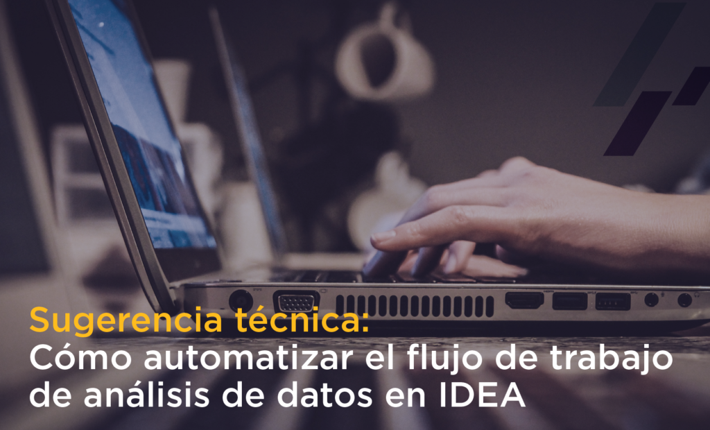 Sugerencia técnica IDEA Script