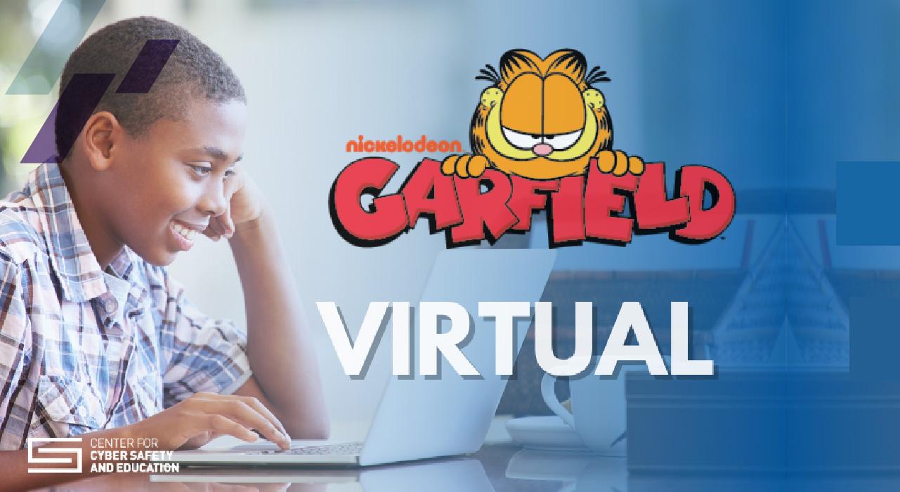 Garfield's Cyber Safety Adventures el programa para seguridad cibernética en aulas virtuales